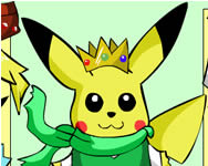 Pikachu dress up online játék