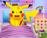 Pikachu emergency room pokemon játékok