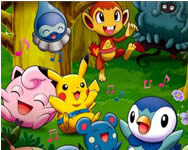 Pokemon hidden objects pokemon játékok